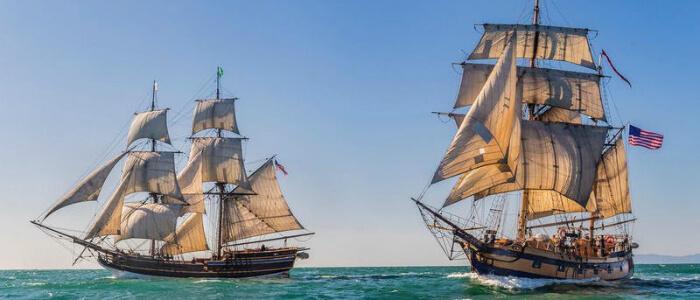 Tall Ship Battle Sail - 2019 Richmond Maritime Festival